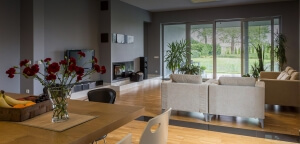 open plan interior designer Bristol