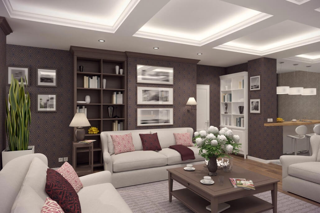 Living Room Interior Designer Cheltenham UK